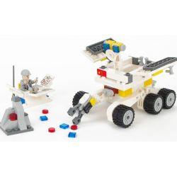 Gudi 8811 City Lunar Probe Station Xếp Hình Xe Tự Hành Trên Mặt Trăng 238 Khối