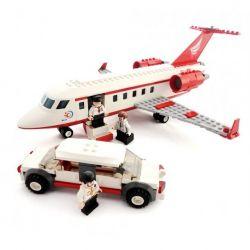Lego City 60102 Gudi 8911 Airport VIP Service Xếp hình chuyên cơ VIP và xe limousine 334 khối
