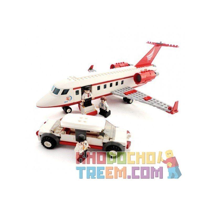 Gudi 8911 City 60102 Airport VIP Service Xếp Hình Chuyên Cơ VIP Và Xe Limousine 334 Khối