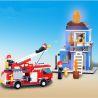 Xinlexin Gudi 9215 (NOT Lego City Fire Emergency ) Xếp hình Xe Thang Cứu Hỏa Chữa Cháy Nhà 431 khối