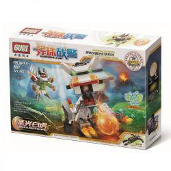 Xinlexin Gudi 9907 Transformers Saint Lightning Tiger Xếp Hình Rô Bốt Biến Hình Hổ Sấm Sét Bắn đại Bác Tròn 121 Khối