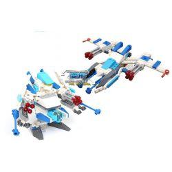 Lego Transformers Gudi 9911 Flash Shadow Xếp hình rô bốt biến hình tia chớp đen bắn đại bác tròn 126 khối