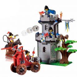 Lego Castle 70402 Enlighten 1019 The Gatehouse Raid Xếp hình tấn công pháo đài trong rừng 262 khối