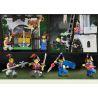 Enlighten 1019 (NOT Lego Castle 70402 The Gatehouse Raid ) Xếp hình Tấn Công Pháo Đài Trong Rừng 262 khối