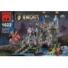 Enlighten 1022 Castle 70404 DRAWBRIDGE Xếp hình phòng thủ cổng lâu đài sư tử 546 khối