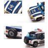Lego City 3648 Enlighten 1117 Police Chase Xếp hình cảnh sát phối hợp truy bắt tội phạm 394 khối