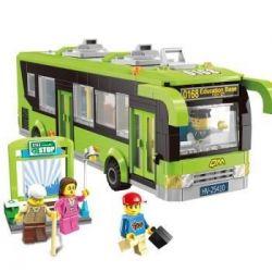 Lego City 7641 Enlighten 1121 City Corner Xếp hình Xe buýt thành phố 418 khối
