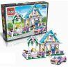 Enlighten 1129 (NOT Lego Friends 40165 Wedding Favour Set ) Xếp hình Đám Cưới Hạnh Phúc 613 khối