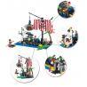 Enlighten 302 (NOT Lego Pirates of the Caribbean 6296 Shipwreck Island ) Xếp hình Xếp Hình Đảo Chìm Tàu 238 khối