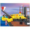 Enlighten 308 (NOT Lego Pirates of the Caribbean 10040 Black Seas Barracuda ) Xếp hình Tàu Cướp Biển 906 khối