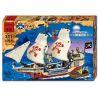 Lego Pirates 10210 Enlighten 311 Imperial Flagship Xếp hình tàu vua cướp biển 487 khối