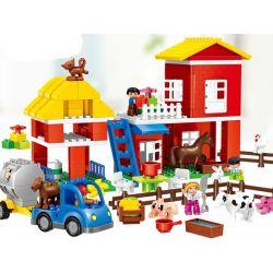 Lego Duplo 5649 Huimei HM062 Big Farm Xếp hình nông trại lớn 115 khối