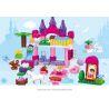Huimei HM063 (NOT Lego Duplo Fantasy Fairland ) Xếp hình Khu Vườn Màu Hồng Của Công Chúa 117 khối