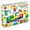 Huimei HM108 (NOT Lego Duplo The Train Have Some Blocks ) Xếp hình Tàu Hỏa Với Các Khối Xếp Số 80 khối