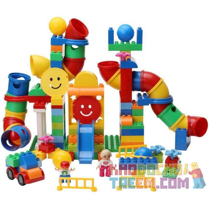 Lego Duplo 9089 Huimei HM132 Tubes Experiment Set Xếp hình ống trượt 138 khối
