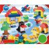 Huimei HM158 (NOT Lego Duplo 5748 Creative Building Kit ) Xếp hình Sáng Tạo Hộp Vừa 100 khối