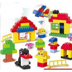 Lego Duplo 5748 Huimei HM158 Creative Building Kit Xếp hình sáng tạo hộp vừa 100 khối