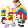 Huimei HM168 (NOT Lego Duplo 5322 Duplo Bucket ) Xếp hình Sáng Tạo Hộp Nhỏ 66 khối