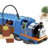 Lego Duplo 5554 Huimei HM318 Thomas Load and Carry Train Set Xếp hình tàu hỏa động cơ pin Thomas và ray bầu dục 103 khối