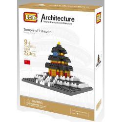 Loz 9364 Architecture Temple Of Heaven Xếp hình Thiên Đàn 220 khối