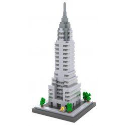 Loz 9381 Architecture Chrysler Building Xếp Hình Tòa Nhà Chrysler 550 Khối