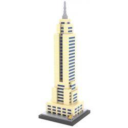 Loz 9388 Nanoblock Architecture Empire State Building Xếp hình Tòa Nhà Empire State 910 khối