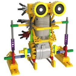 Lego Mixels Loz 3011 A0011 Electric armored kangaroo robot Xếp hình rô bốt chuột túi động cơ pin 125 khối