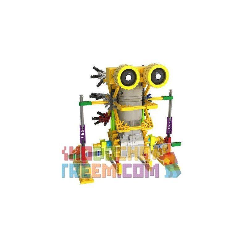 Loz 3011 A0011 (NOT Lego Buildingblocks Jungle Robots Electric Armored Kangaroo Robot ) Xếp hình Rô Bốt Chuột Túi Động Cơ Pin gồm 2 hộp nhỏ 125 khối