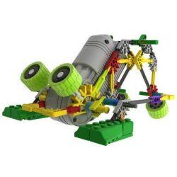 Loz 3012 A0012 Buildingblocks Jungle Robots Electric Frog King Robot Xếp hình Rô Bốt Ếch Động Cơ Pin 118 khối