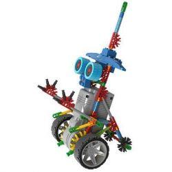 Lego Buildingblocks Jungle Robots Loz 3013 A0013 Robotic Warrior Xếp hình Rô bốt chiến binh 120 khối