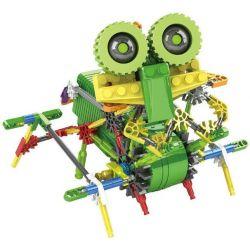Lego Mixels Loz 3015 Electric Ankylosaur dinosaur robot Xếp hình rô bốt khủng long Ankylosaur động cơ pin 129 khối