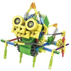 Lego Dinosaurs Robots Loz 3016 Electric Ceratopsia dinosaur robot Xếp hình Rô bốt khủng long Ceratopsia động cơ pin 117 khối