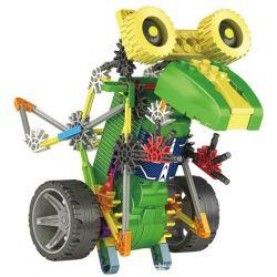 Lego Dinosaurs Robots Loz 3017 Electric Tyrannosaurus rex dinosaur robot Xếp hình Rô bốt khủng long Tyrannosaurus động cơ pin 105 khối