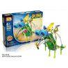 Loz 3018 (NOT Lego Dinosaurs Robots Electric Pterosaur Dinosaur Robot ) Xếp hình Rô Bốt Khủng Long Pterosaur Động Cơ Pin 119 khối