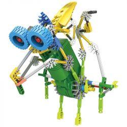 Loz 3018 Dinosaurs Robots Electric Pterosaur Dinosaur Robot Xếp Hình Rô Bốt Khủng Long Pterosaur động Cơ Pin 119 Khối