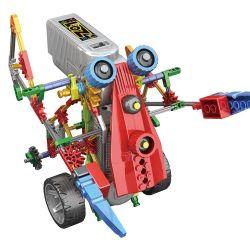 Lego Mixels Loz 3023 Electric long arm elves robot Xếp hình rô bốt tay dài động cơ pin kết hợp Loz-3013 và Loz-3014 209 khối