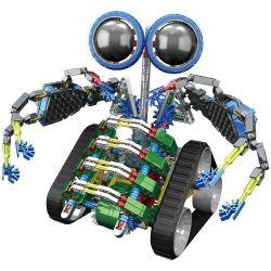 Loz 3027 A0017 OX- Eyed Robots Electric Turbine Beast Robot Xếp Hình Rô Bốt Quái Vật Turbo động Cơ Pin 362 Khối