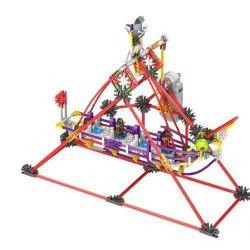 Lego Technic Loz 2012 Electric Amusement Park Corsair Xếp hình thuyền lắc động cơ pin 328 khối