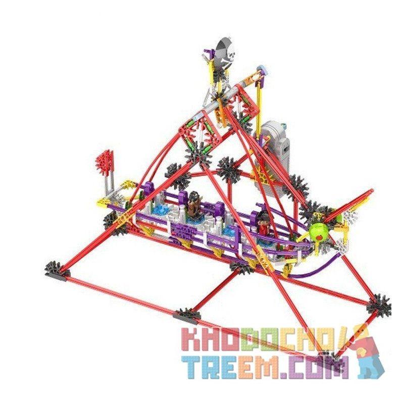 Loz 2012 (NOT Lego Loz Electric Amusement Park Electric Amusement Park Corsair ) Xếp hình Thuyền Lắc Động Cơ Pin 328 khối