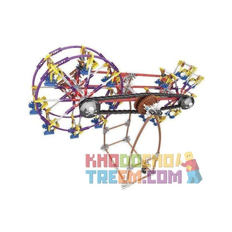 Loz 2015 Technic Electric Amusement Park Fantastic Ferris Wheel Xếp hình đu quay 2 bánh xe siêu tốc động cơ pin 599 khối