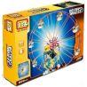 Loz 2024 P0006 (NOT Lego Loz Electric Amusement Park Electric Amusement Park Happy Ferris Wheel ) Xếp hình Đu Quay Tròn Kép Đứng 8 Ghế Động Cơ Pin gồm 2 hộp nhỏ 660 khối