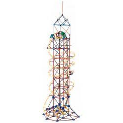 Lego Technic Loz 2028 C0002 Electric Amusement Park Roller Coaster Xếp hình tàu lượn siêu tốc động cơ pin 785 khối