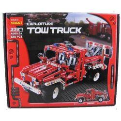 Decool 3327 Technic 8289 Pick Up Tow Truck Xếp hình Xe Cứu Hộ Giao Thông (Mẫu 2) 1035 khối