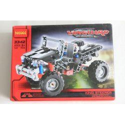 Decool 3342 (NOT Lego Technic 8066 Off-Roader ) Xếp hình Xe Ô Tô Jeep ( Mẫu 1) 141 khối