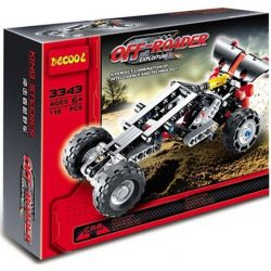 Decool 3343 (NOT Lego Technic 8066 Off-Roader ) Xếp hình Xe Ô Tô Đua Off Road (Mẫu 2) 141 khối