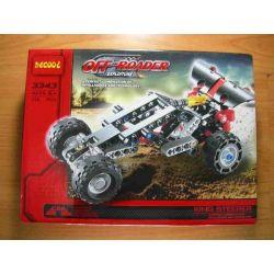 NOT LEGO Technic 8066 Off-Roader, Decool JiSi BrickCool 3343 Xếp hình Xe ô Tô đua Off Road (Mẫu 2) 141 khối