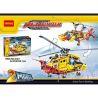 Decool 3357 (NOT Lego Technic 9396 Helicopter ) Xếp hình 2 Dạng Máy Bay Trực Thăng 1056 khối