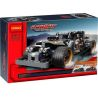 Decool 3417 Lepin 20081 Qunlong QL0403 (NOT Lego Technic 42046 Getaway Racer ) Xếp hình Xe Ô Tô Ma Tốc Độ Kéo Thả 170 khối
