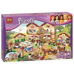 Bela 10170 (NOT Lego Friends 3185 Summer Riding Camp ) Xếp hình Trại Vui Chơi Mùa Hè 1118 khối