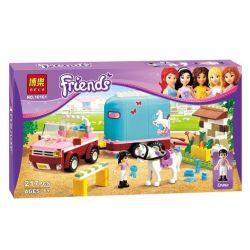 NOT Lego FRIENDS 3186 Emma's Horse Trailer Emma's Train , Bela 10161 Lari 10161 Xếp hình Huấn Luyện Viên Dạy Ngựa Của Emma 218 khối